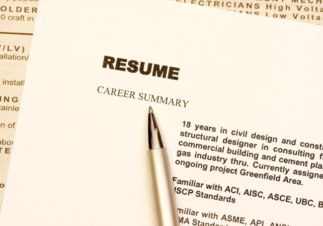Business Resume Free CV Samples